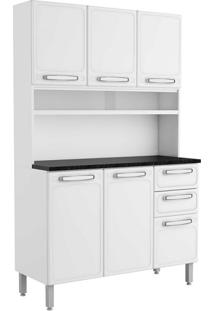 Cozinha Compacta Cecil Iii 6 Pt 2 Gv Branca