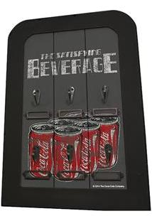 Porta-Chave Urban Coca-Cola 6 Hooks Six Can Pack - Cinza