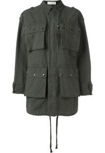 Faith Connexion 'Have Fun' Military Jacket - Verde