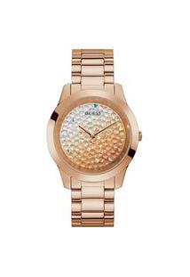 Relógio Analógico Guess Feminino - Gw0020L3 Rosa
