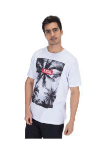 Camiseta Fatal Estampada 20326 - Masculina - Branco