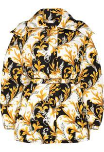 Versace Baroque Print Puffer Jacket - Estampado