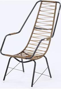 Cadeira Fio Trançado Plus Fabone - 840 Dourada