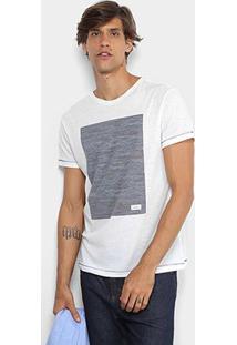 Camiseta Foxton Mar Masculina - Masculino-Off White