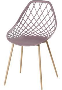 Cadeira Frank Camurca Pes Bege - 50065 - Sun House