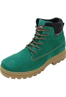 Bota Atron Shoes Worker Verde
