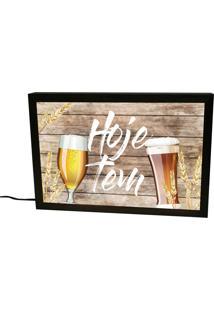 Luminária Prolab Gift Hoje Tem Cerveja Preta