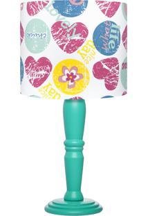 Abajur Carambola Lovely Colorido - Multicolorido - Menina - Dafiti