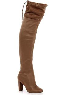 Bota Over The Knee Lara Lurex