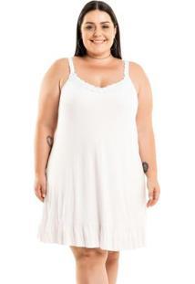 Vestido Amplo Branco Miss Masy Plus