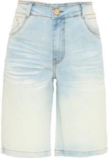 Bermuda Jeans Dimy Camili Azul