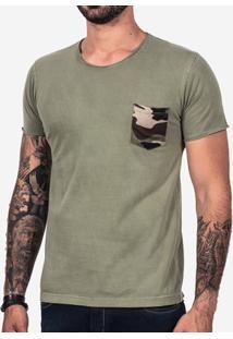 Camiseta Hermoso Compadre Militar Masculina - Masculino