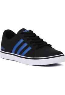 Tênis Casual Masculino Adidas Pace Preto/Azul