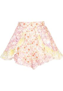 Zimmermann Short Agol - Estampado
