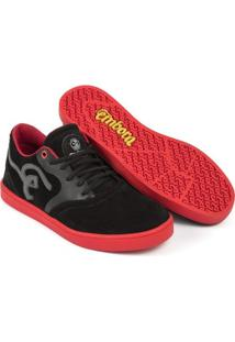 Tênis Embora Footwear Supremo Masculino - Masculino-Preto+Vermelho