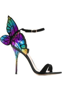Sophia Webster Sapatilha Bibi Butterfly - Preto