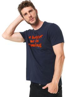 Camiseta Ellus Fine Better Azul-Marinho