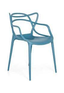 Cadeira Masters Allegra - Turquesa