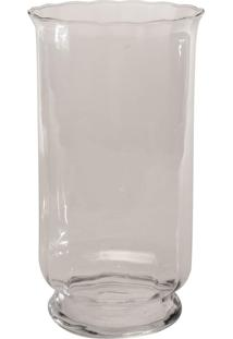Vaso Bianco & Nero 34X20Cm Transparente