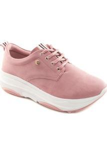 Tênis Quiz Ugly Sneaker Feminina - Feminino-Rosa