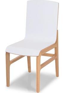 Cadeira Armenia Cor Natural Concha Branco L120