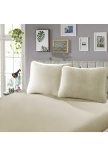 Lençol Com Elástico King 40 Confort 1 Peça Nozes - Sbx Têxtil