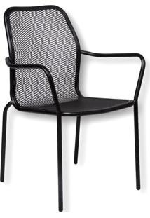 Cadeira De Jardim Clove Preta