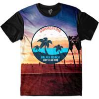 Camiseta Long Beach California Masculina - Masculino cf71efbc354d9