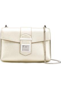 Jimmy Choo Marianne Shoulder Bag - Dourado
