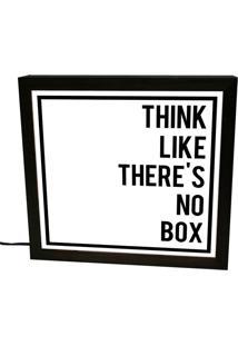 Luminária Prolab Gift Lightbox No Box Preta