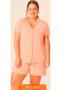 Pijama Laranja Claro Cromoterapia Plus