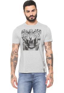 Camiseta Naxos Tigre Cinza