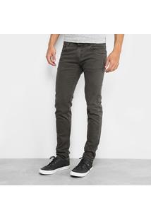 Calça Skinny Sawary Estonada Color Masculina - Masculino