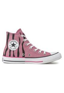 Tênis Converse All Star Chuck Taylor Hi Rosa Palido Ct13820003