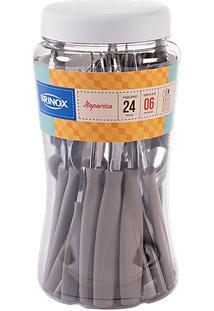 Faqueiro Itaparica 24 Peças Warm Gray Brinox
