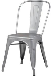 Cadeira Iron Tolix Cinza - 37886 - Sun House