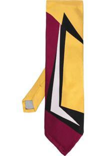 Marni Gravata Estampada - Amarelo