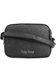 Bolsa Betty Boop Mini Bag Transversal Feminina - Feminino-Preto