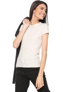 Camiseta Malwee Básica Off-White