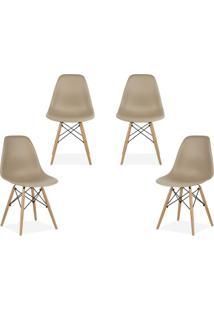 Kit 04 Cadeiras Decorativas Lym Decor Eiffel Charles - - Dafiti
