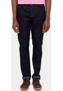 Calça Jeans Skinny Triton Gilson Super Escura Masculina - Masculino