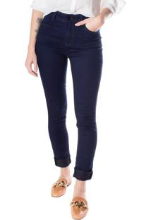 Calça Jeans Feminina Max Denim Azul Escuro - 36