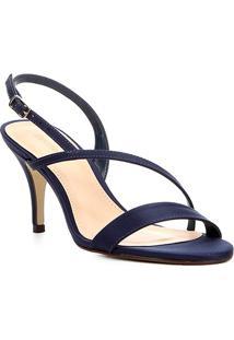 046e204146 Sandália Cetim Shoestock feminina