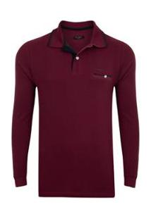 Camisa Polo Pierre Cardin Masculina - Masculino