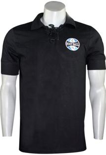 Camiseta Grêmio Retro Vintage Natural Cotton Masculina