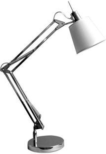 Luminária De Mesa De Metal Scope 72 Cmx15 Cmxx Bella Iluminação Cromado