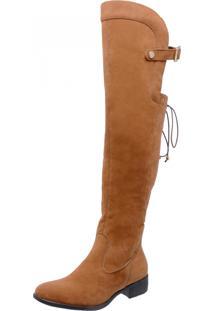 Bota Over Knee Mega Boots 977 Caramelo