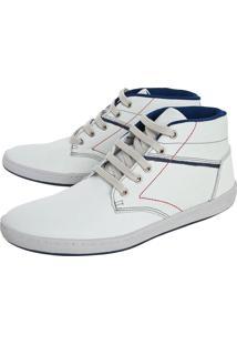 Sapatênis Couro Dafiti Shoes Off-White