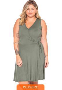Vestido Feminino Curto Verde