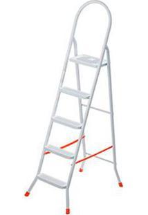 Escada De Aço 5 Degraus Maxiutil